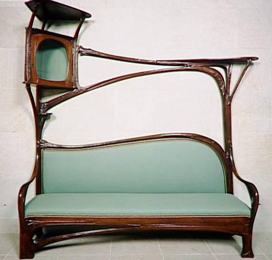 style nouille art nouveau. Black Bedroom Furniture Sets. Home Design Ideas